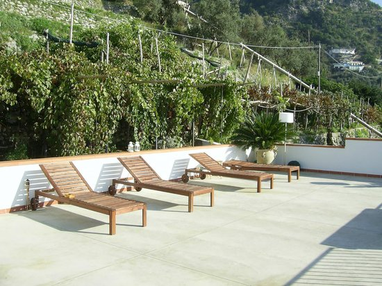 Tenuta La Picola: the sun terrace