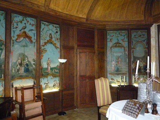 Château de Bagnols : Petit salon