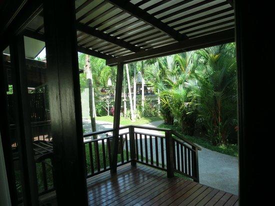 Aonang Phu Petra Resort, Krabi Thailand: Porche