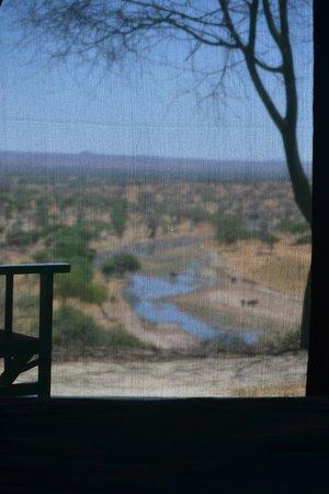 Tarangire Safari Lodge: panorama dalla camera