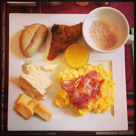 Hotel Notre Dame : Frühstücksauswahl