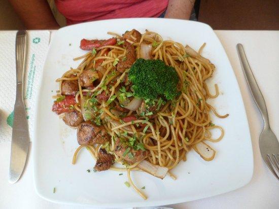 Cabanas: Espaguete Delícia