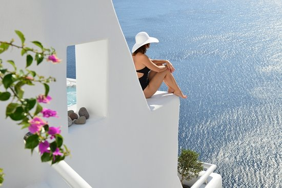 Art Maisons Luxury Santorini Hotels Aspaki & Oia Castle: hotel view