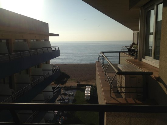 Tahiti Playa Suites: Back/side balcony