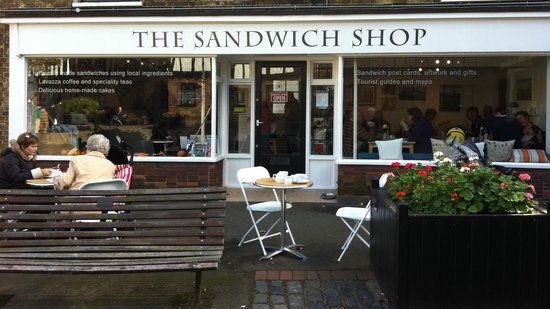 ‪The Sandwich Shop‬