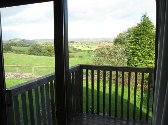 The Rock B&B: The view from the Ruardean Studio