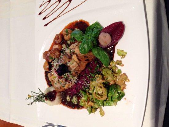 Zee Restaurant: Vegetarischer Wildteller im Zee, toll!
