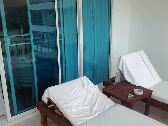 Pinnacle Grand Jomtien Resort: Балкон