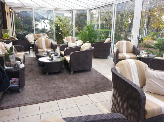Hotel Butgenbacher-Hof: véranda