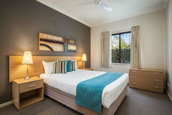 Quest Bunbury Apartment Hotel: One, Two & Three Bedroom Apartments have separate bedrooms