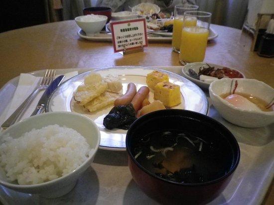 Kanazawa Hakuchoro Hotel Sanraku : 朝食