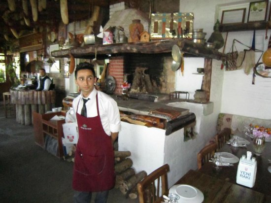 Kaplan Dag Restaurant: cooking