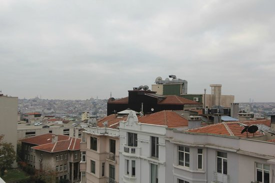 Galata Antique Hotel: room 501 view