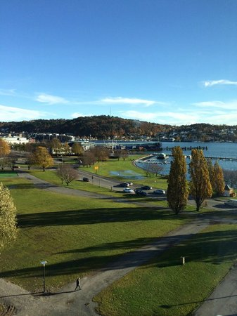 Scandic Park Sandefjord: View over the harbor