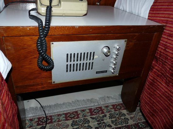 Agdal Hotel : The radio that didn't work