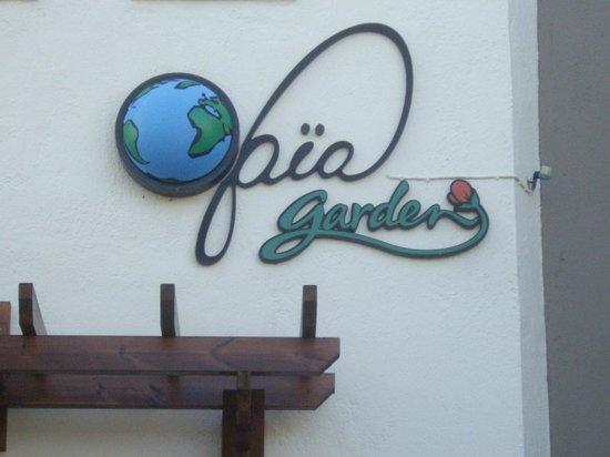 Gaia Garden: front of hotel