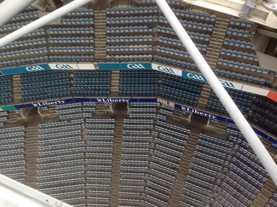 Etihad Skyline Tour Croke Park Stadium: Over Davin stand