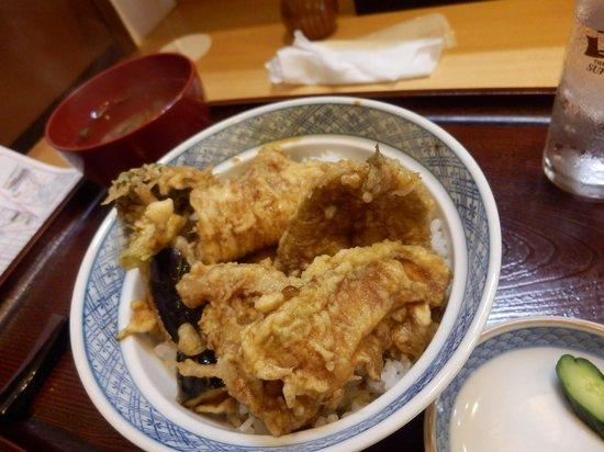 Tempura Fukuoka: ランチ