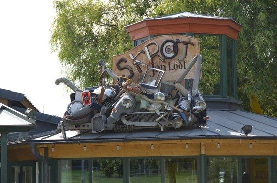 Junibacken : На крыше музея...