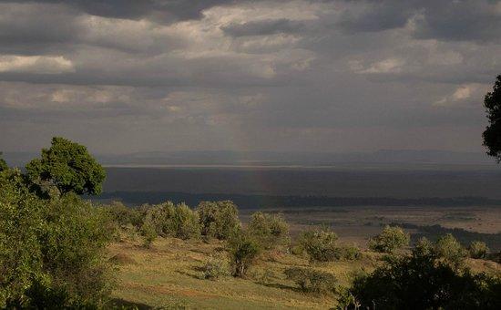 Mara West Camp : Arc en ciel sur le Mara