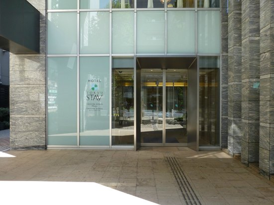 Tokyu Stay Aoyama Premier : View of front entrance to hotel.