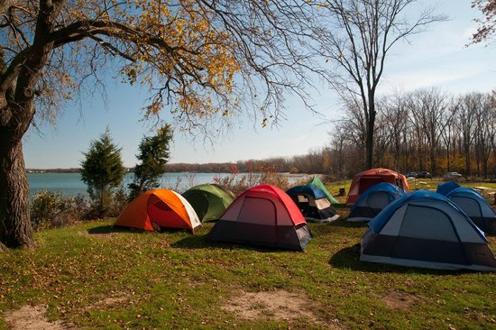 Kelleys Island State Park: Autumn Tent Camping