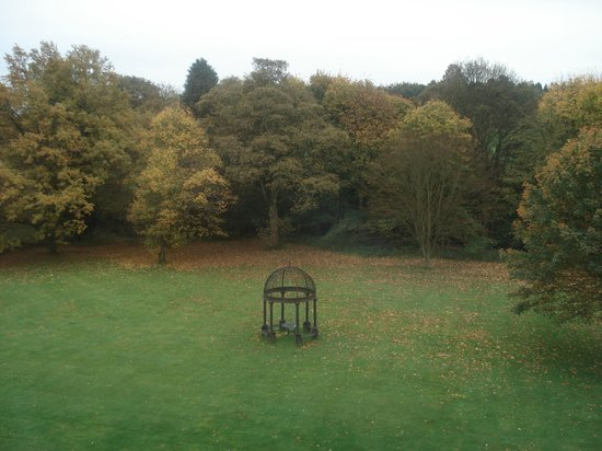 Best Western Beamish Hall Country House Hotel: View from bedroom window