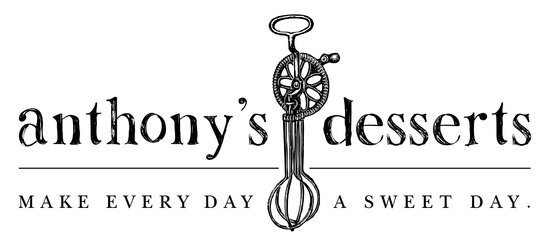 Anthony's Desserts: Our Logo