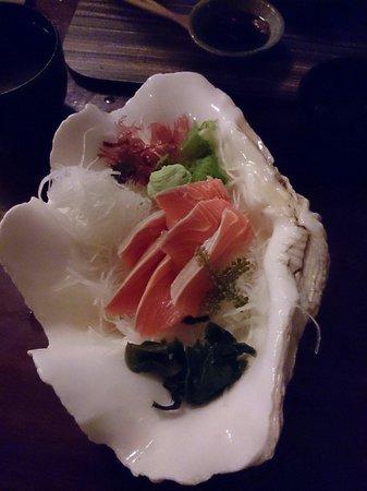 Unkaizan: Salmon Sashimi