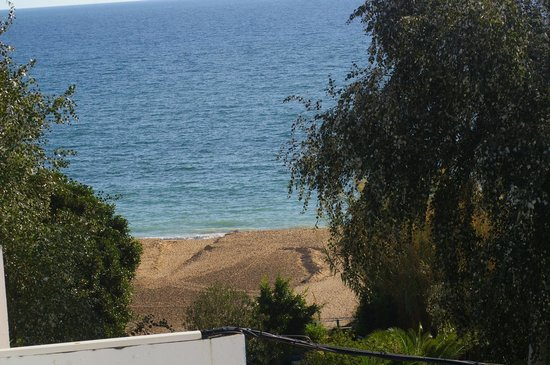 Monica Isabel Beach Club : vue de la plage du haut de l'hotel