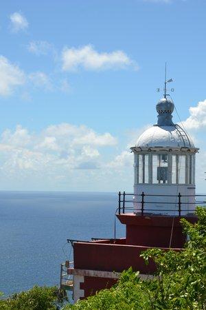 Parc Naturel Regional de la Martinique: phare presqu'île caravelle