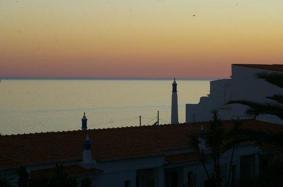 Monica Isabel Beach Club : vue depuis la terrase de l'hôtel