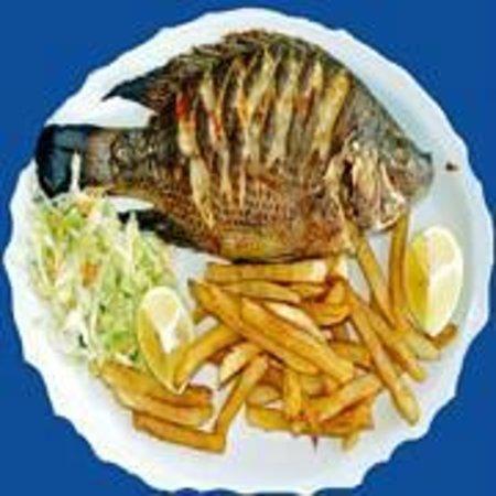 Restaurante Delicias Bahia Drake: Sabrosa y casera, al gusto del consumidor.
