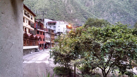 SUMAQ Machu Picchu Hotel : View from my room (looking west towards town)