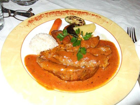 Apollon Garden Restaurant : Lamsvlees