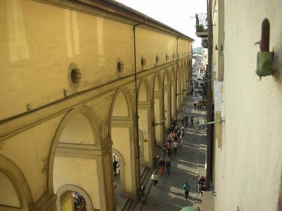 Hotel Degli Orafi: vue de la chambre 202