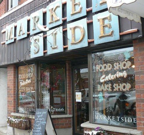 Market Side Food Shop & Cafe: great food... great atmsphere...