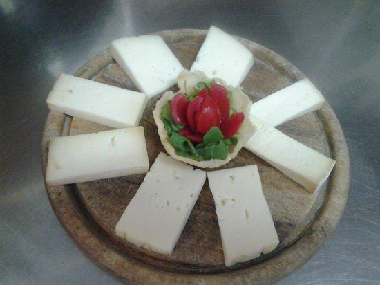 Ristorante Sneton Restaurant: formaggio misto