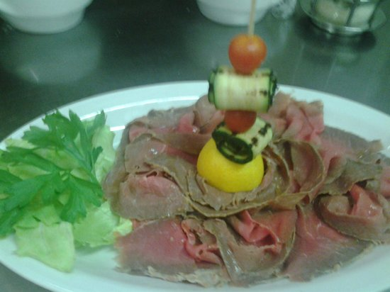 Ristorante Sneton Restaurant: roastbeef alla inglese