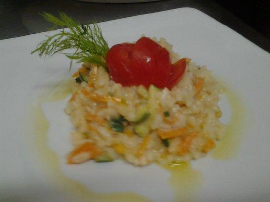 Ristorante Sneton Restaurant: risotto alla verdure