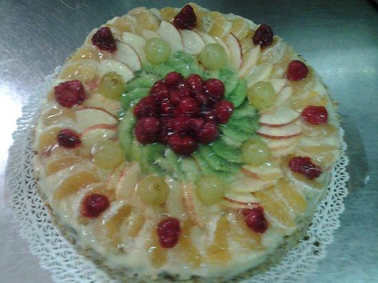 Ristorante Sneton Restaurant: torta alla frutta