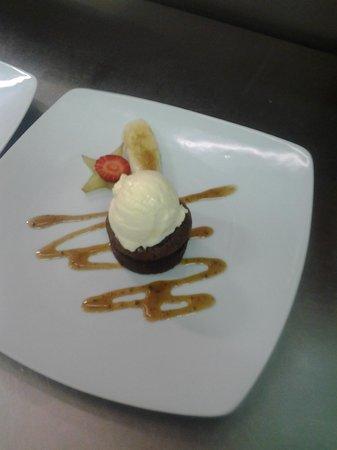 Ristorante Sneton Restaurant: tortino all cioccolato
