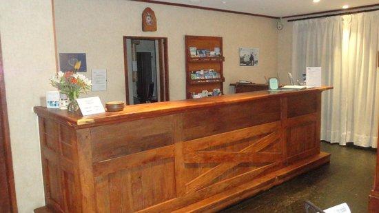 Calafate Parque Hotel: Recepción