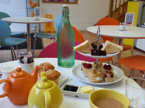 Afternoon tea at Sugar Therapy, Harrogate. Delicious!