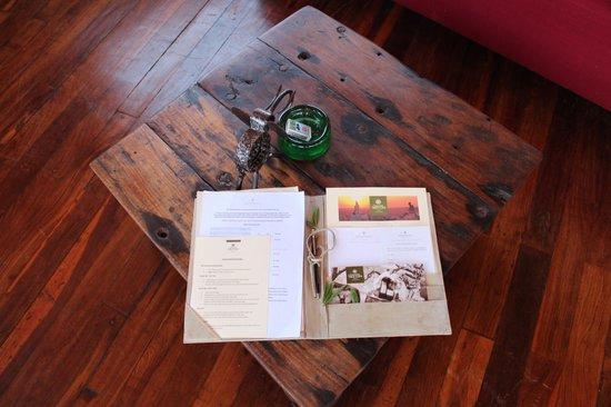 Tarangire Treetops : Lounge area Tree House