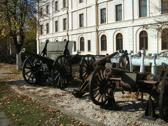 National Military Museum Bucharest : Front of the museum