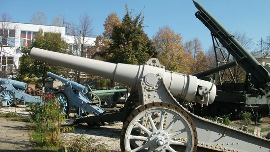 National Military Museum Bucharest: More guns
