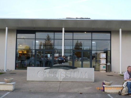 Le Cassissium (entrée)