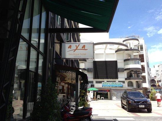 AYA Boutique Pattaya Hotel: 外観