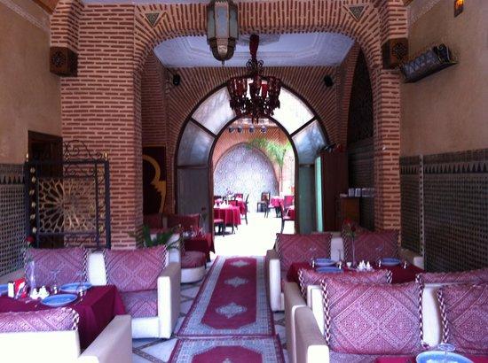 Riad & Spa Mabrouk : A desayunar!